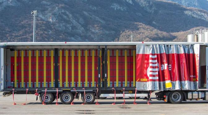 Arcese sceglie i nuovi semirimorchi Mega Huckepack XLS