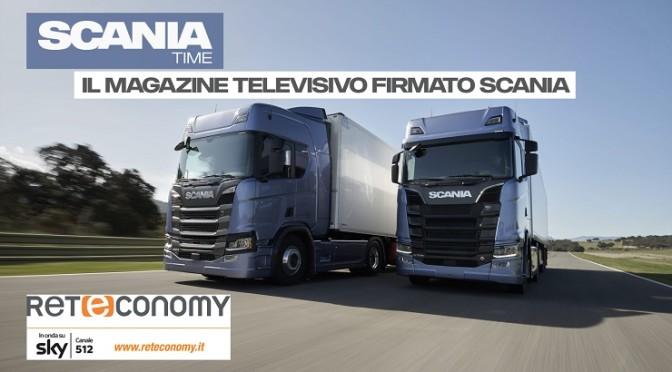 """Scania su Sky Reteconomy con """"Scania Time"""": il magazine televisivo del trasporto su gomma"""
