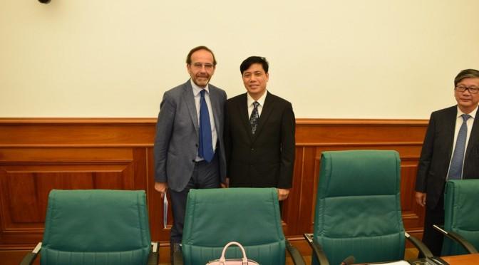 Firmato al MIT il MoU con il Vietnam su infrastrutture e trasporti