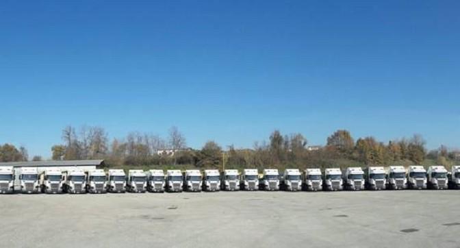 La Autotrasporti Pigliacelli sceglie Scania: 104 nuovi veicoli!!!