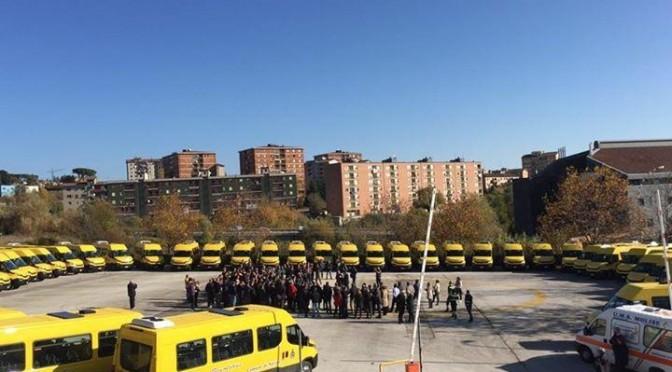 55 Iveco Daily Scuolabus per la Regione Molise prodotti negli stabilimenti di Brescia e Suzzara