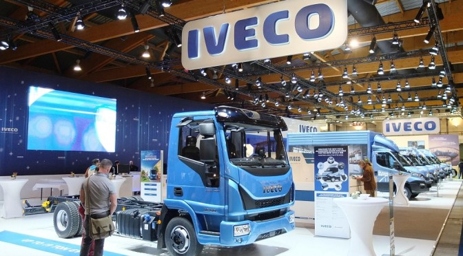 Iveco ha partecipato al salone Truck and Transport 2017 di Bruxelles