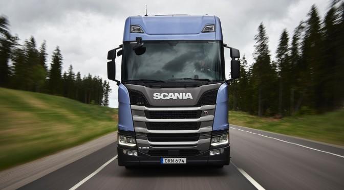 Scania: la nuova generazione e i veicoli peril cava cantiere in prova a Transpotec