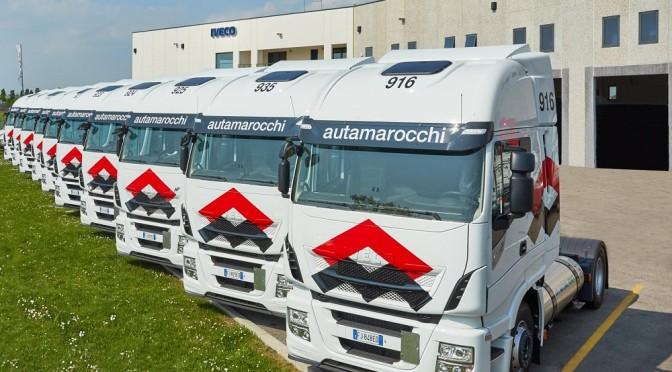 Autamarocchi rinnova la sua fiducia in Iveco con 20 nuovi Stralis NP