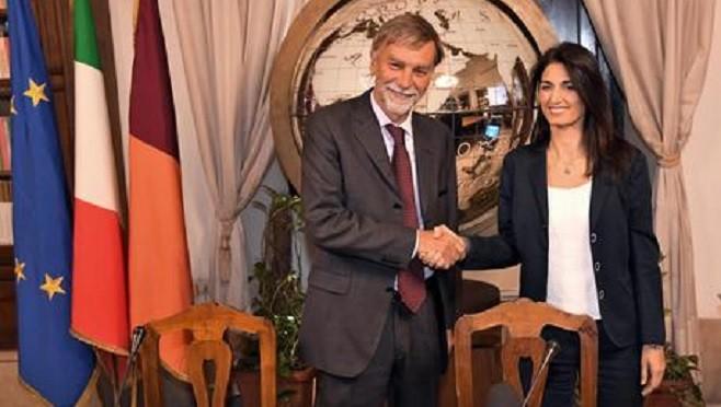 Incontro al MIT tra il ministro Graziano Delrio e Virginia Raggi