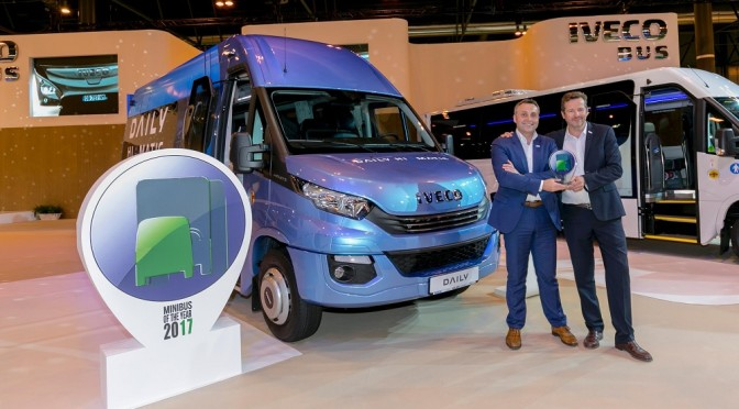 Iveco Daily Tourys è International Minibus of the Year 2017
