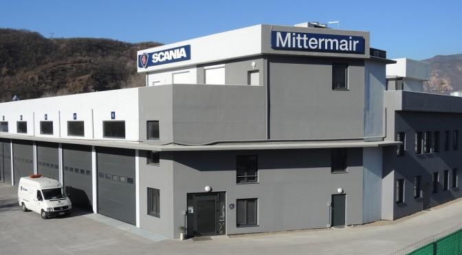 L'officina Scania Mittermair di Bolzano Sud