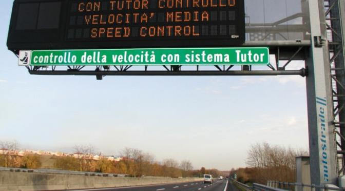 Arrivano Tutor e autovelox sul tratto autostradale Genova-Savona