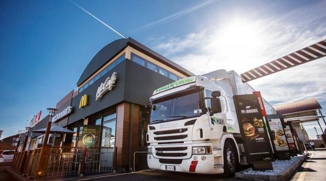 HAVI e Scania: insieme per ridurre le emissioni di CO2 nella filiera di McDonald's