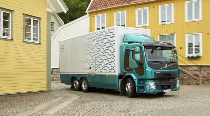 Un motore più potente amplia l'uso della serie Volvo FE
