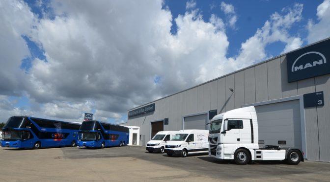 Cresce la Rete MAN Truck & Bus Italia: due MAN Center e quattro nuovi dealer nel Mezzogiorno