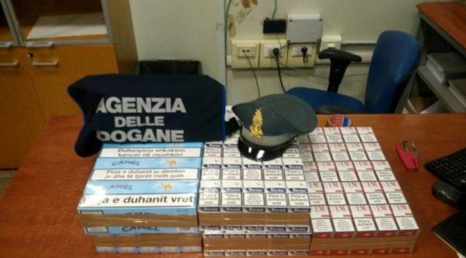 Sequestrate al Porto di Bari sigarette di contrabbando su camion albanese