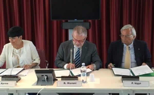 Paolo Uggè (FAI-Conftrasporto) ricevuto in Regione Lombardia da Roberto Maroni
