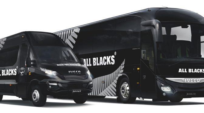 Iveco scende nuovamente in campo a fianco degli All Blacks