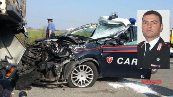 Morte carabiniere Di Pietra, camionista condannato: 'Ha parcheggiato male'
