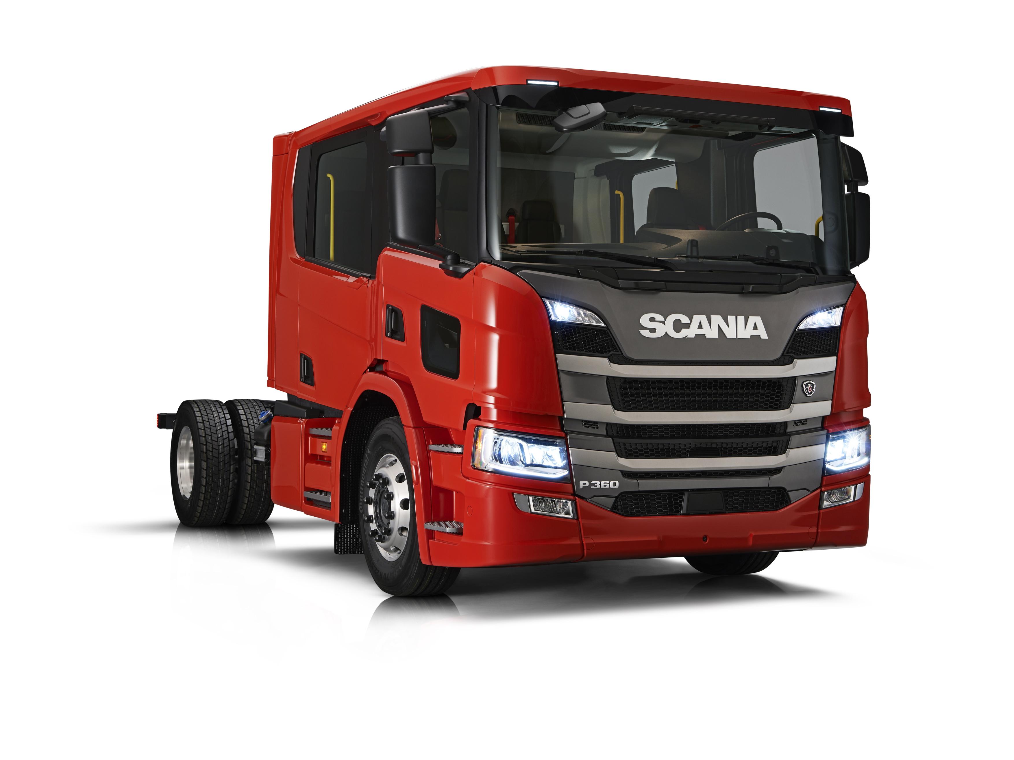 Scania presenta la nuova cabina equipaggio di prima classe for Ba cabina di prima classe