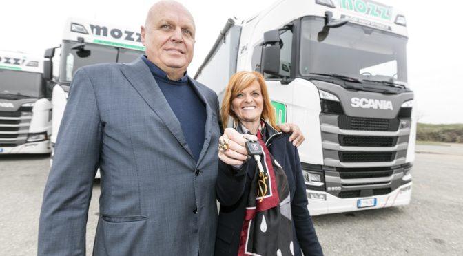 Nuovi 20 trattori Scania S 500 per Autotrasporti Mozzi