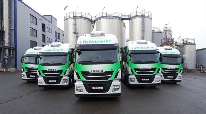 Iveco consegna il suo 1000° Stralis NP 400 a Verbio Logistik GmbH