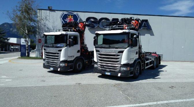 AMNU S.p.A. di Pergine Valsugana (TN) acquista 3 nuovi veicoli Scania