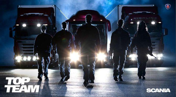 Scania Top Team: 5 squadre per il titolo di migliori tecnici d'officina d'Italia