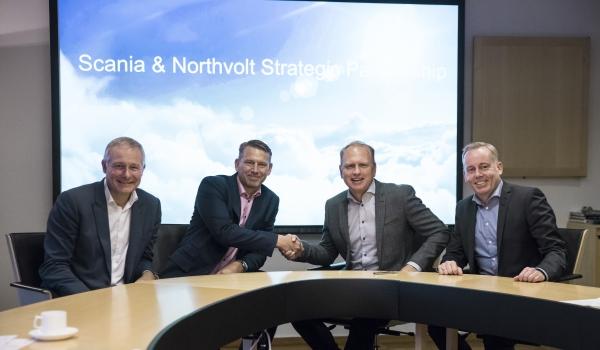 Scania e Northvolt: una partnership  per l'elettrificazione dei veicoli pesanti