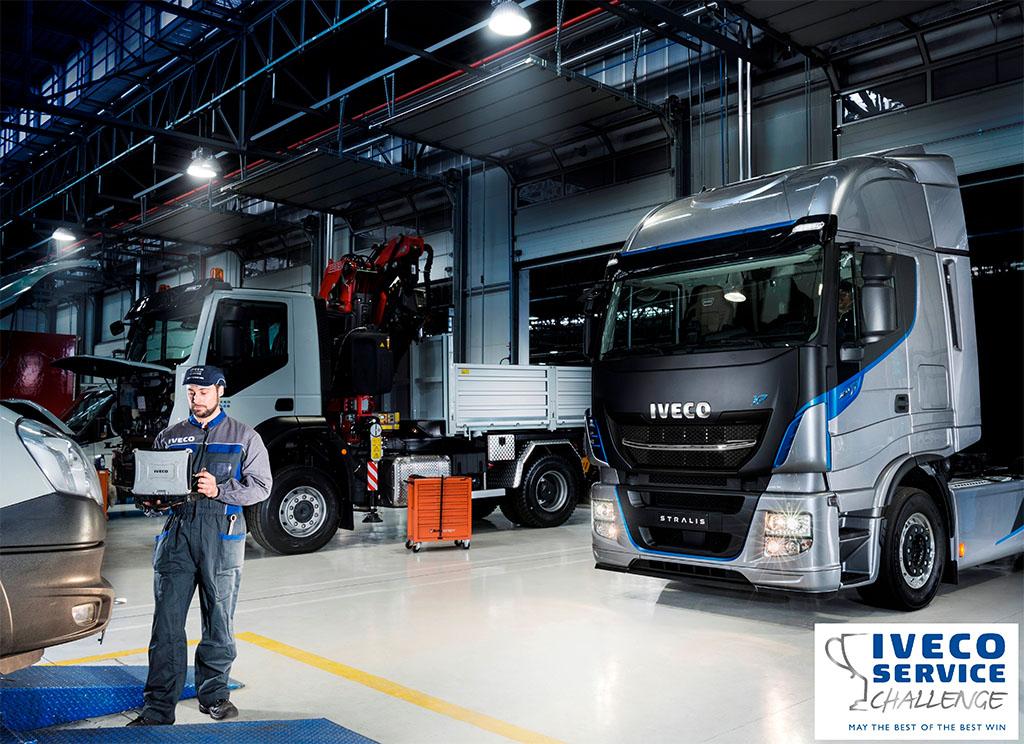 Service Challenge 2018: sfida tra i team delle Truck Station Iveco