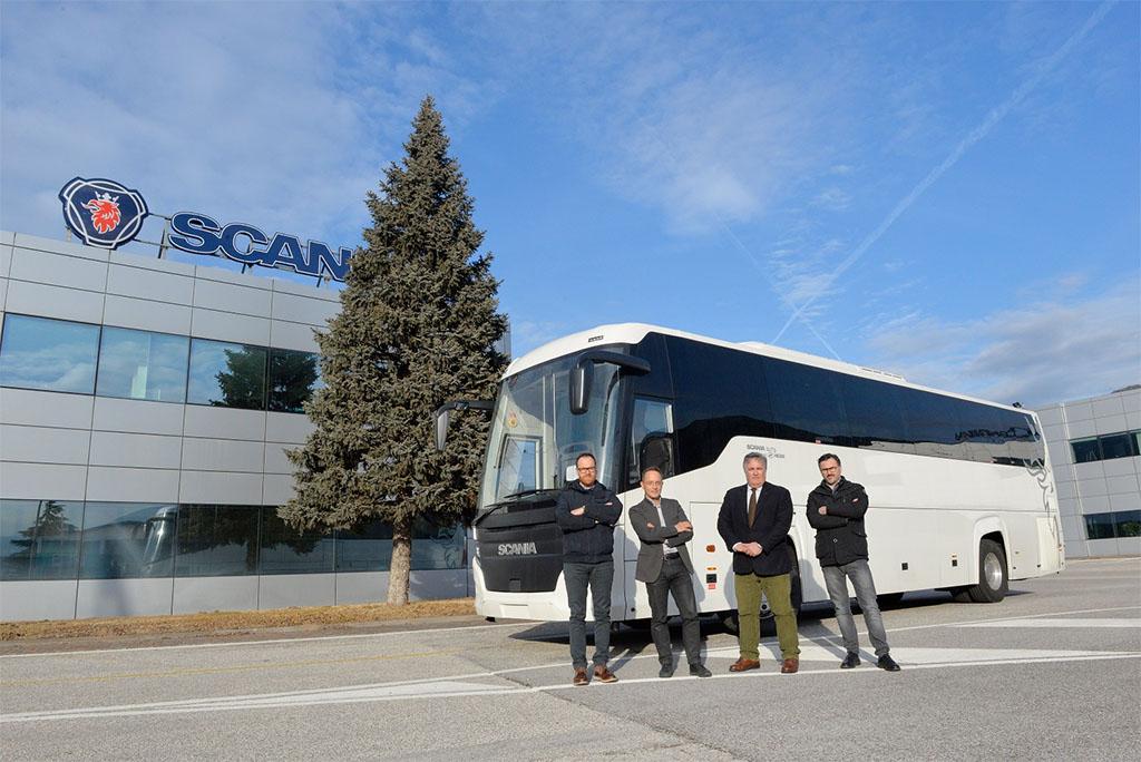 10 Scania Touring pronti per il mercato italiano