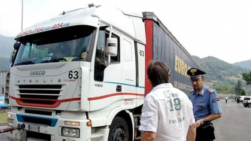 Camionista rapinato in area di sosta a Bagnaria Arsa (UD)