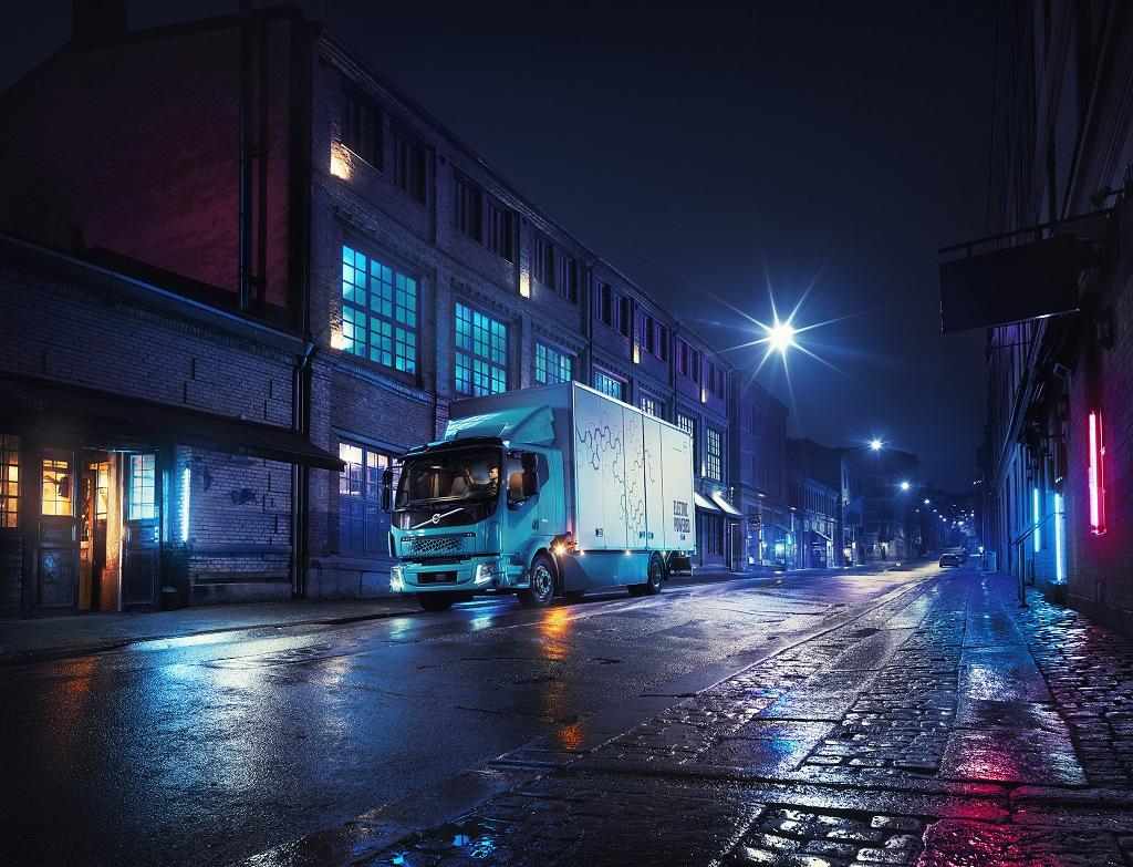 Volvo FL Electric: il primo veicolo completamente elettrico di Volvo Trucks