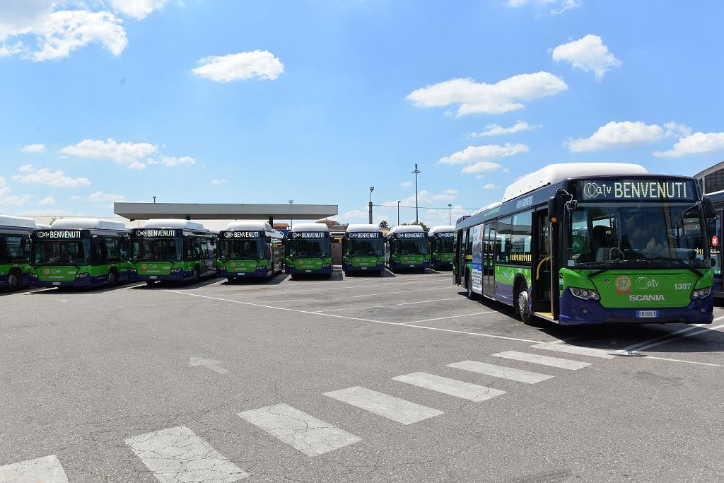 Nuovi autobus Scania a gas naturale per il trasporto urbano di Verona