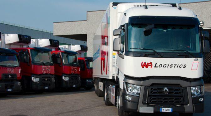 AF Logistics di Lodi arricchisce la sua flotta con 62 nuovi veicoli Renaul Trucks