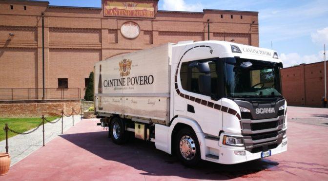 Cantine Povero: il vino è a domicilio con Scania