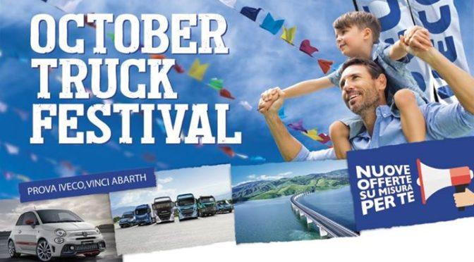 """A Pistoia l'October Truck Festival di Iveco con il motto """"Rinnova, Risparmi, Riparti"""""""