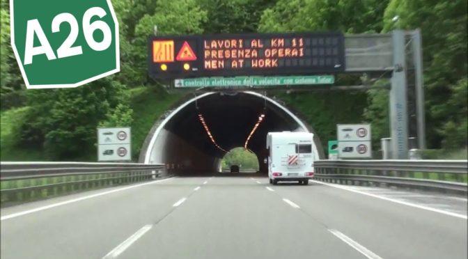 """Autostrade: """"Nessun blocco trasporti eccezionali sulla A26"""""""