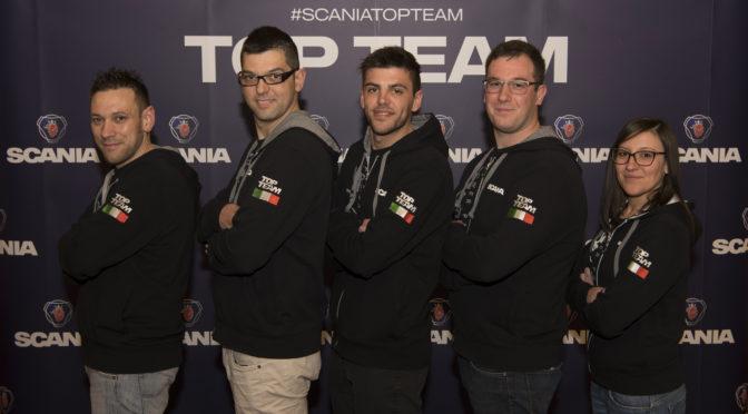 I campioni italiani di Affini Service pronti per la finale mondiale Scania Top Team