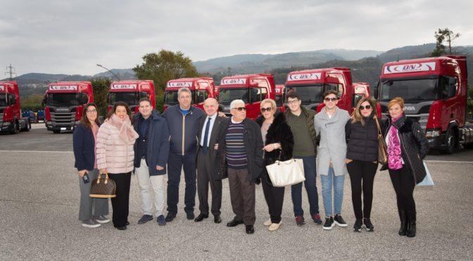 DN Logistica rinnova la propria flotta con 50 veicoli Scania