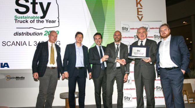 Scania si aggiudica il Sustainable Truck of the Year 2019 per il terzo anno consecutivo