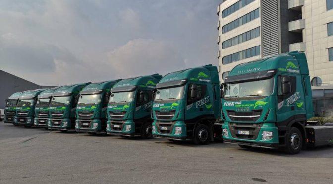 PIMK amplia la sua flotta con 50 nuovi Iveco Stralis NP