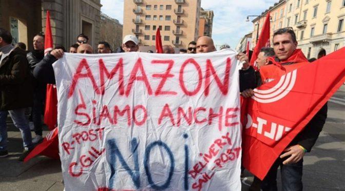 """Conftrasporto: """"Protesta driver Amazon puramente strumentale"""""""