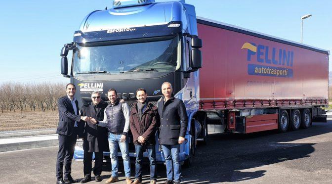 Sei nuovi Iveco Stralis NP 460 per la napoletana Autotrasporti Pellini