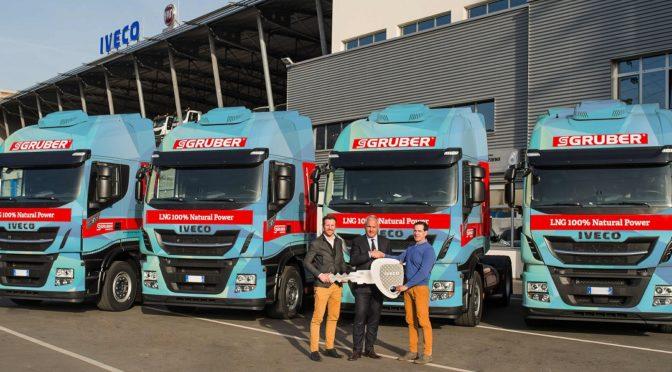 Dieci nuovi Iveco Stralis NP per la altoatesina Gruber Logistics