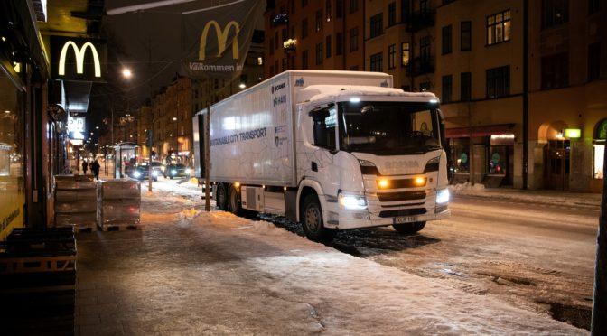 Da Scania veicoli ibridi per consegne notturne silenziose
