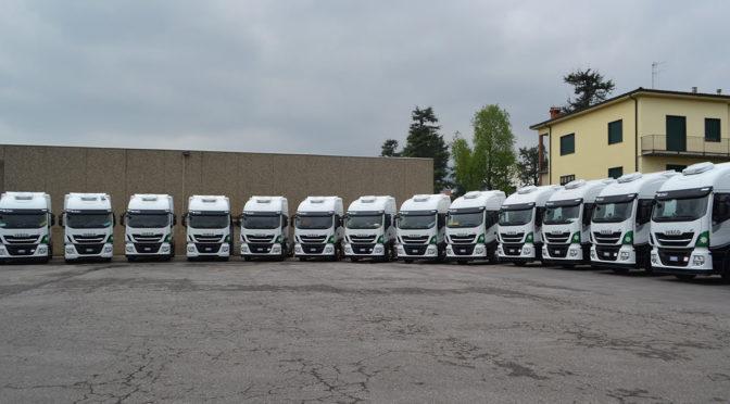 Autotrasporti Dolci Vincenzo green con 25 Iveco Stralis NP 460