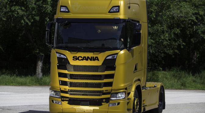 Scania V8 Anniversary: edizione limitataper celebrare i 50 anni del motore V8