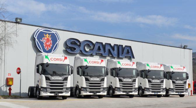 La famiglia Corsi sceglie la nuova generazione Scania: 50 nuovi veicoli per rinnovare la flotta