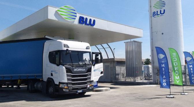 Inaugurata una nuova stazione LNG in Piemonte