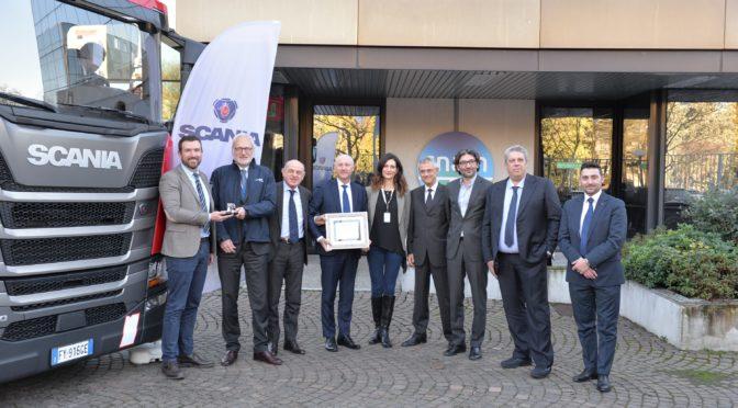 Snam, Scania e DN Logistica insieme per la mobilità sostenibile a LNG
