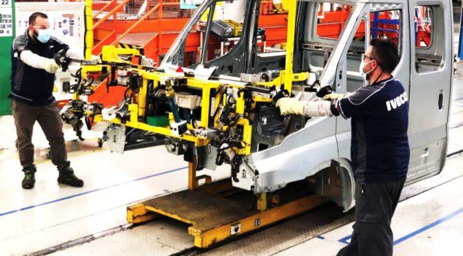 IVECO annuncia la ripresa della produzione nei suoi stabilimenti in Italia e Spagna