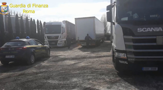 Maxi sequestro di gasolio proveniente dall'Europa dell'Est: 9 arresti a Roma