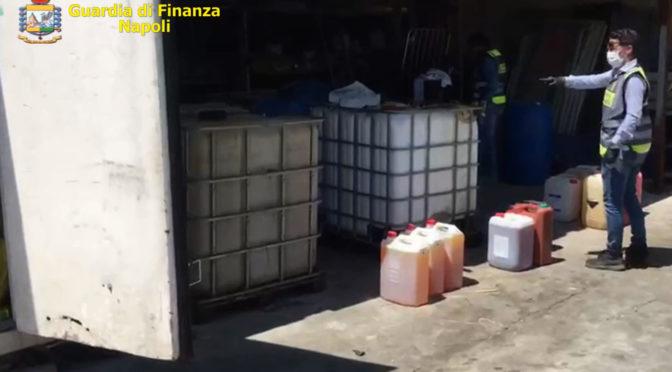 Sequestrati distributore, cisterne e carburante abusivi nel Napoletano